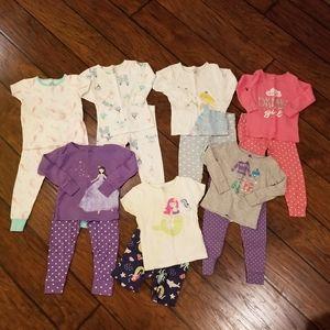 Carter's pajamas sets